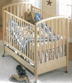 Picture of Recalled Nico Model Number 630  Crib