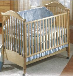 Picture of Recalled Pagodina Model Number 195  Crib