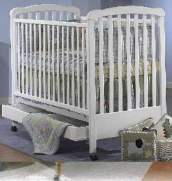 Picture of Recalled Rita Model Number 490 Crib; Manufactured between 2001 and October 2007