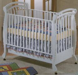 Picture of Recalled Rosemary Model Number 925  Crib