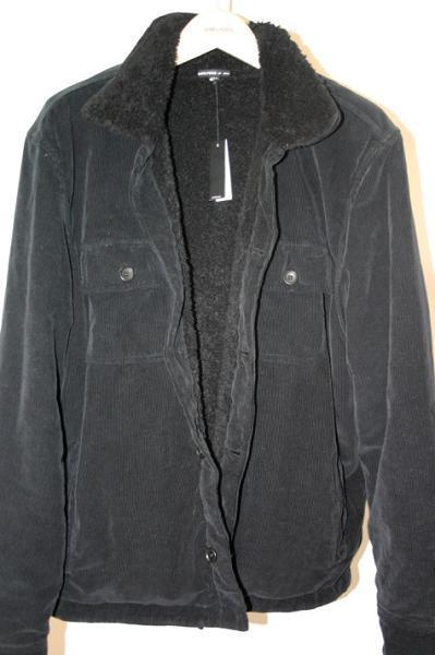 Picture of recalled men's corduroy jacket