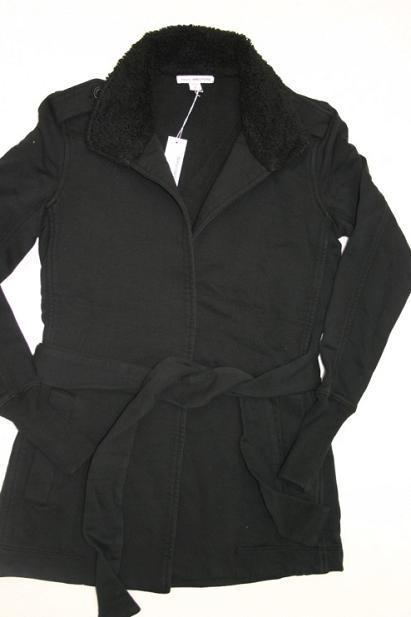 Picture of recalled women's belted wrap jacket