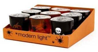 Picture of recalled Super Value/Modern Light Halloween tea light candles