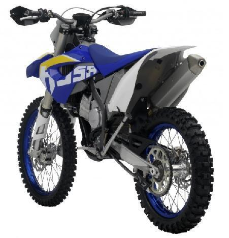 Picture of recalled 450 FX Off-Road Motorcycle model