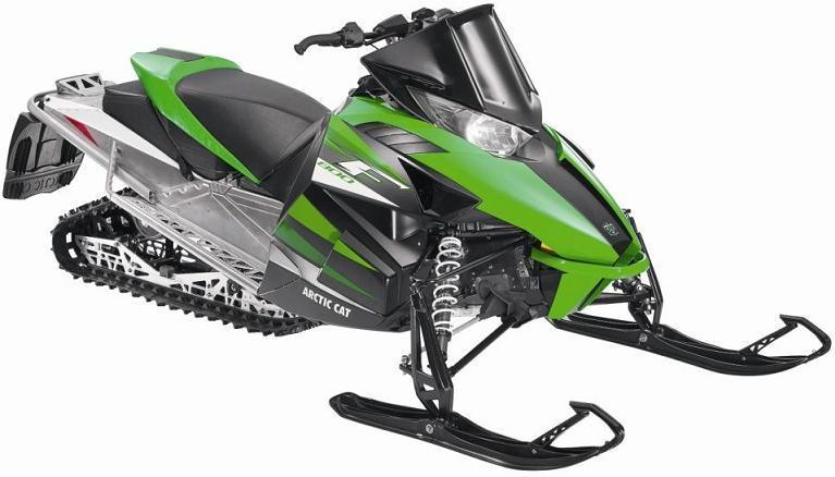 Picture of recalled F  Model Snowmobile