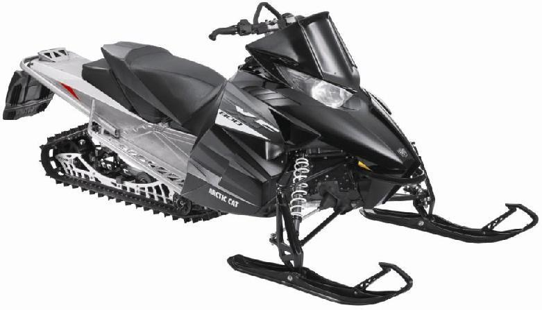 Picture of recalled XF  Model Snowmobile