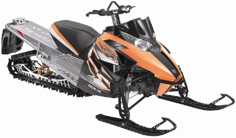 Picture of recalled M  Model Snowmobile