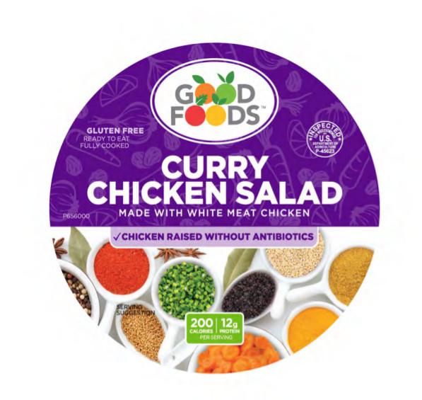 Good Foods Group Recalls Curry Chicken Salad