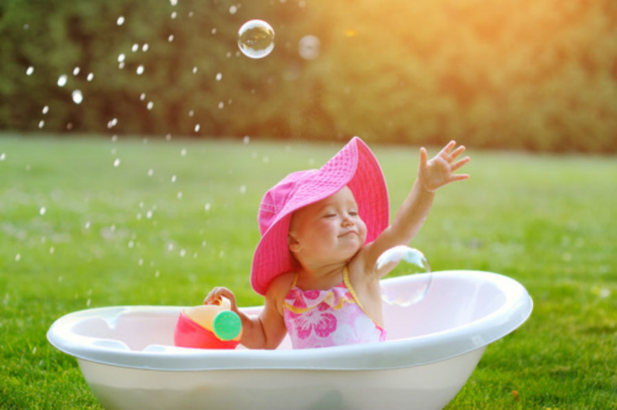 How Often Does Your Child Actually Need To Take A Bath