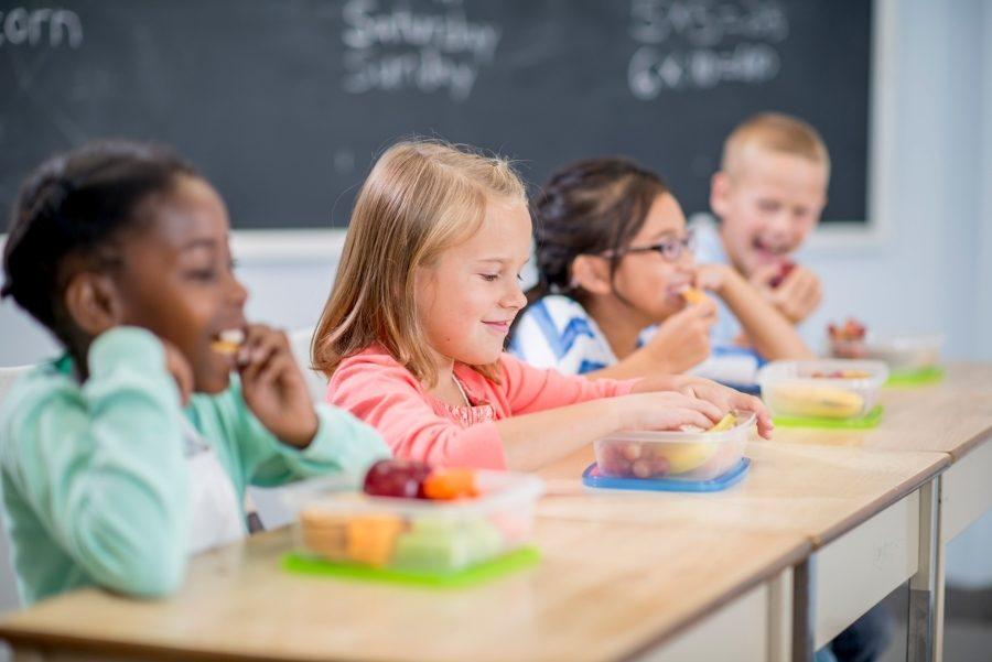 Reading scores higher for children who eat lunch