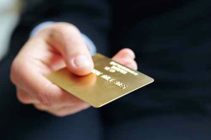 how to pay overdraft with credit card