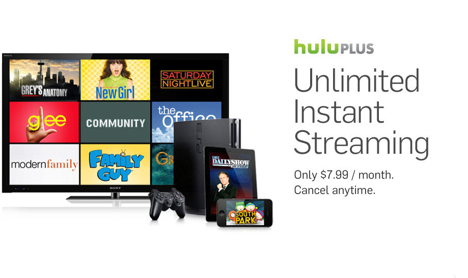 Credit Card Offers For Bad Credit >> Hulu and Hulu Plus: Good Enough to Replace Cable Television?