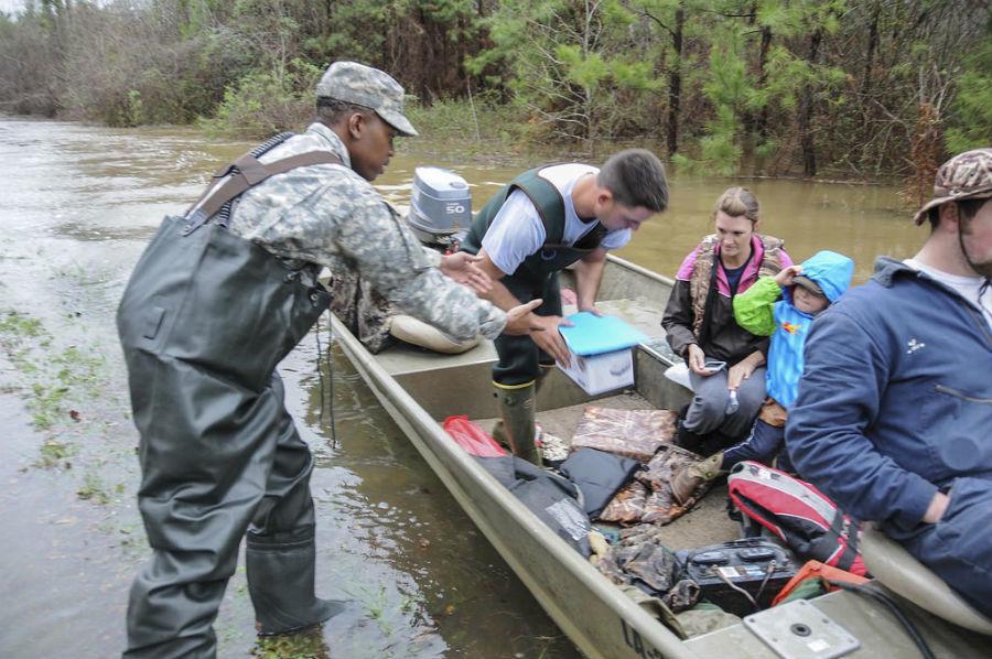 Relief Efforts Underway To Help Louisiana Flood Victims