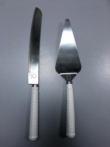 Martha Stewart Whiteware Cake Knife And Server Sets Recalled