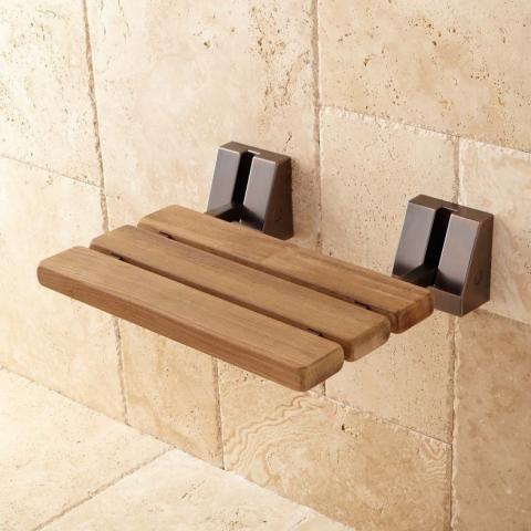 Signature Hardware Recalls Wall Mounted Shower Seats