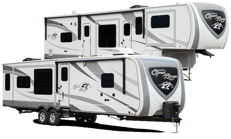 model year 2018 open range 3x fifth wheel recreational