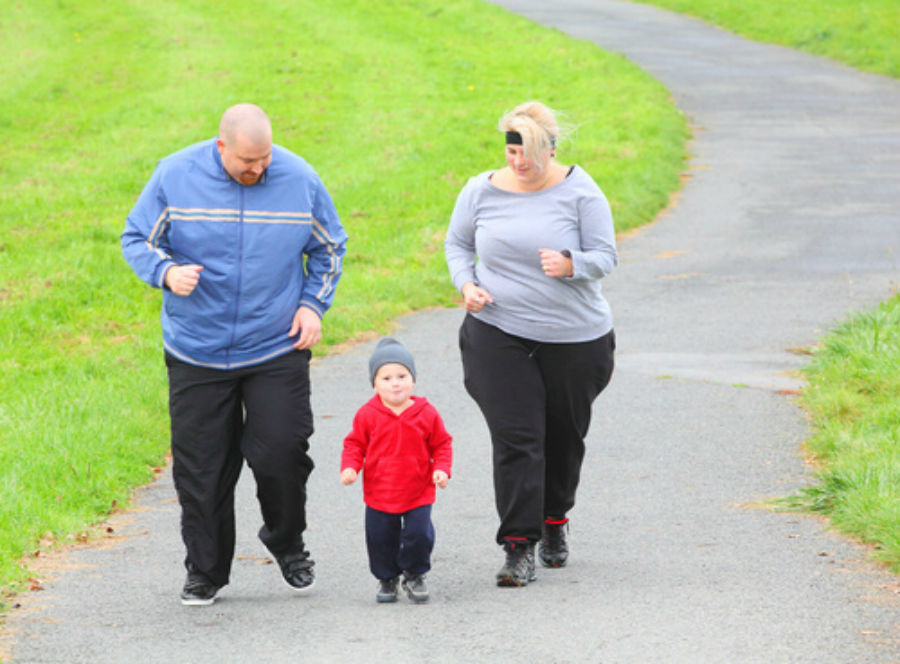 Have you ever wondered why fat parents have fat children ...   Overweight Dad