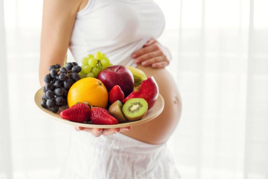 Resultado de imagen para frutas en el embarazo