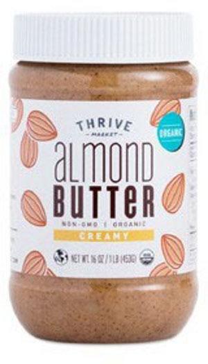 thrive market brand nut butters recalled