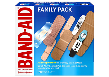 band aid family pack