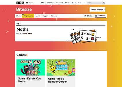 bbc bitesize math
