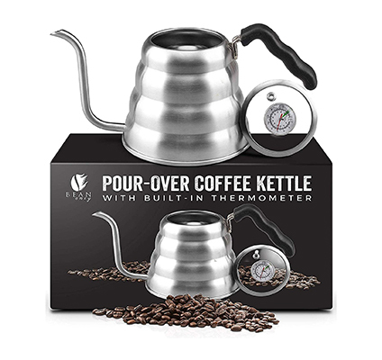 bean envy kettle with built in thermometer