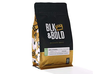 blk and bold limu ethiopia coffee