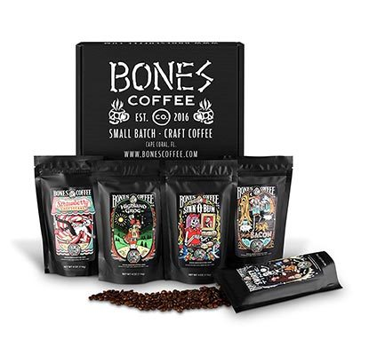bones coffee sampler
