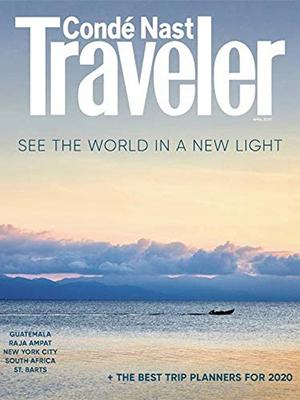 conde nast traveler magazine cover