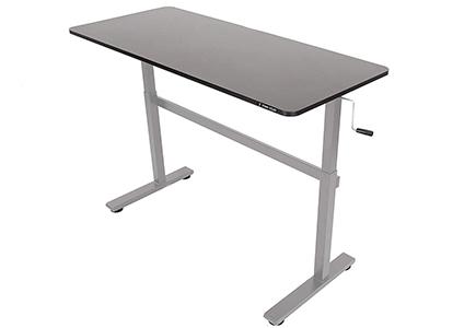 crank adjustable standing desk