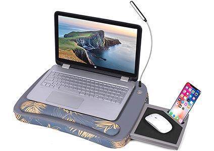 deluxe lap desk for laptop