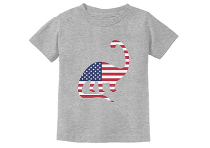 dino flag shirt