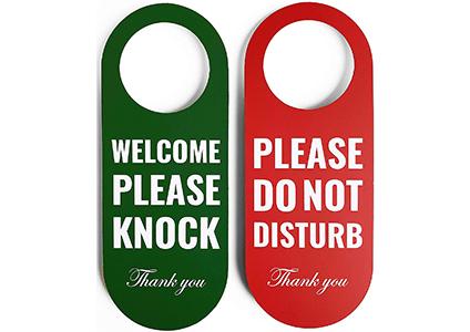 do not disturb hanger signs hadigu