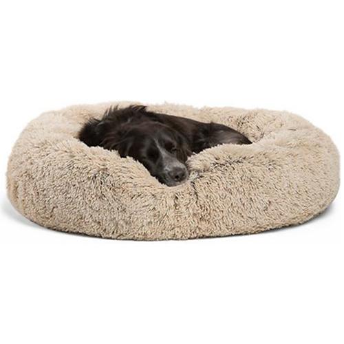 donut cuddler dog bed