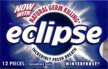 photo of eclipse gum