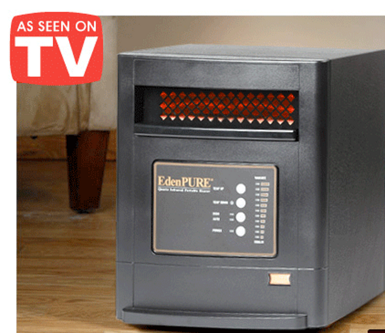 Water Heater Problems >> EdenPURE: Do These Nice-Looking Space Heaters Work as Advertised?