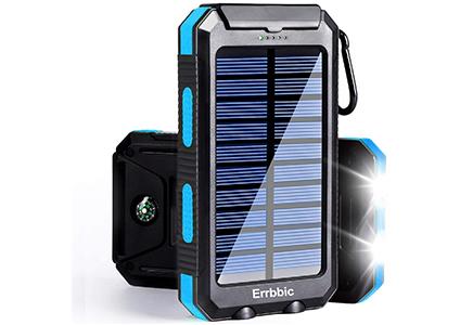 errbbic solar panel battery