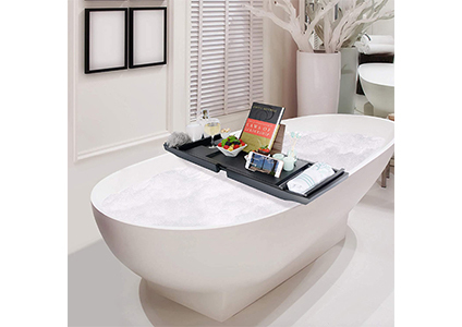 fancy bathtub table