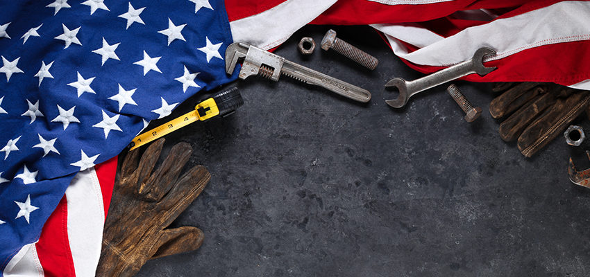 flag surrounding tools