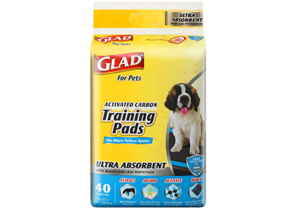 glad for pets training pads