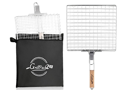 grillpackz bbq grill basket