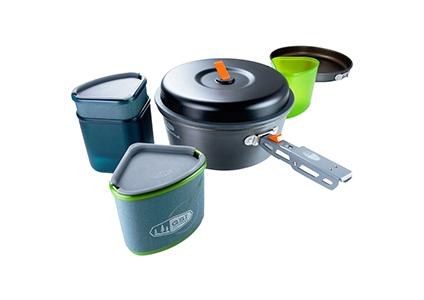 backpacker cookware set