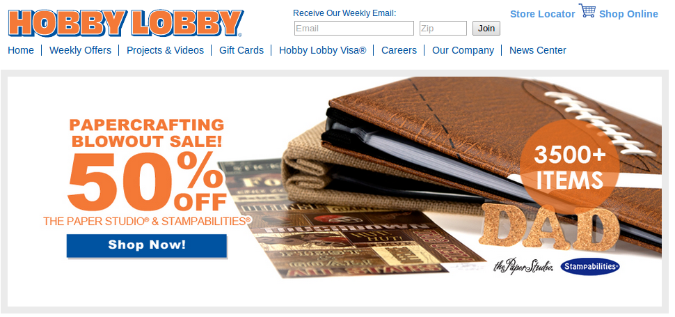 hobby lobby misled customers with sale prices ny charges
