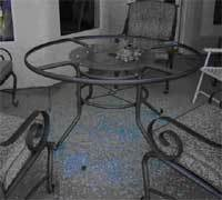 Karen Dozieru0027s local Kmart in Bakersfield Calif. told her that it was probably vandalism that caused her table to shatter while she vacationed in Cancun ... & Sounds of Summer: Martha Stewart Tables Shattering