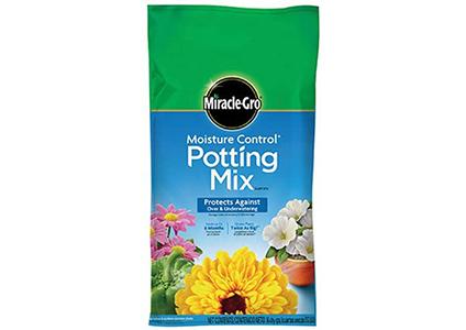 miracle gro potting mix