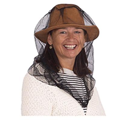 mosquito mesh hat