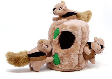 outword hound hide a squirrel toy