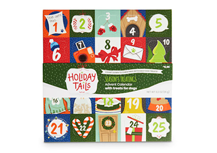 petco holiday tails treat advent calendar