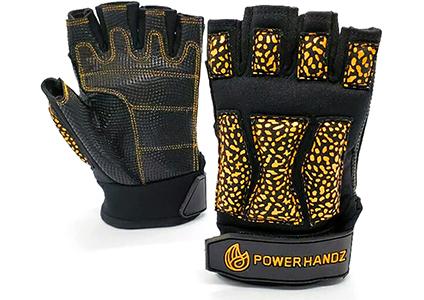 powerhandz powerlift weighted training gloves