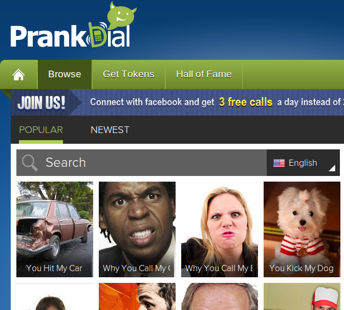 PrankDial -- some think it's funny, others don't